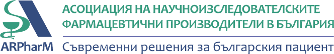 arpharm logo with slogan bg
